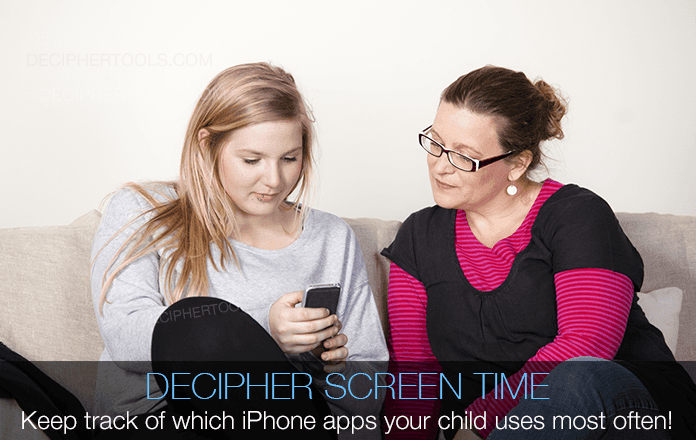 Decipher Screen Time lets parents track and monitor the apps their child or teen uses the most.
