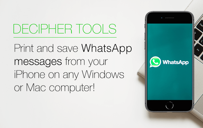 Follow these steps to print WhatsApp messages on PC or Mac.
