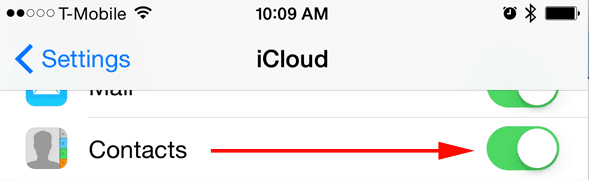 learn how to sync iPhone contacts in iCloud
