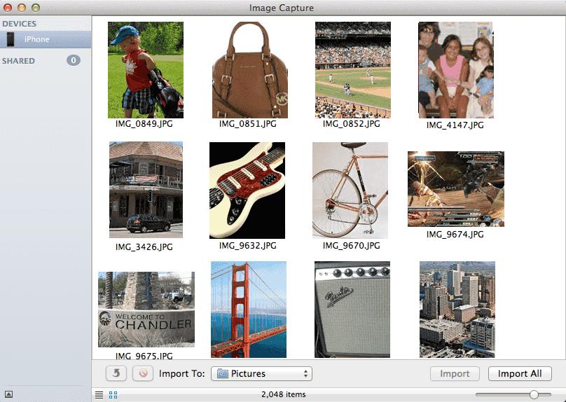 Image Capture icon.