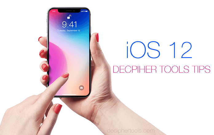 Preparing your iPhone for the iOS 12 Update.
