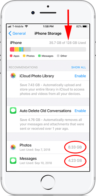 How to check how much space and storage you have on your iPhone before you updates to iOS 12
