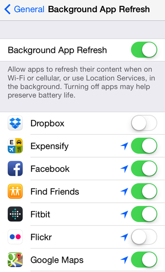 How to disable background app refresh on your iPhone