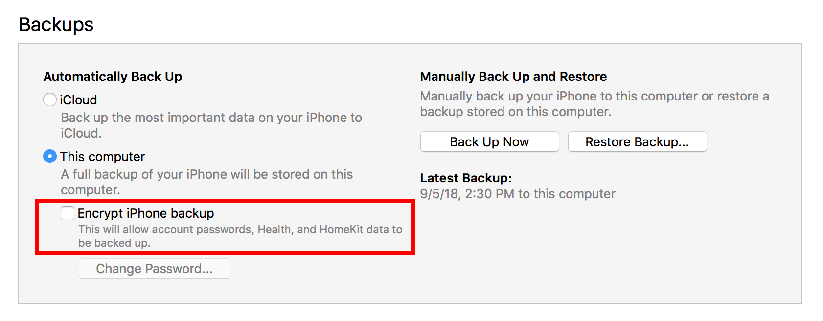 Six things you might not know about iTunes backups!