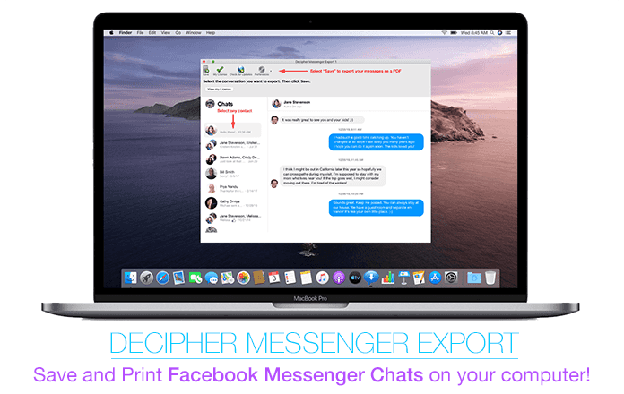 How to print and save Facebook Messenger chat messages on any computer