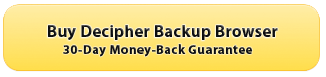 Buy Decipher Backup Browser